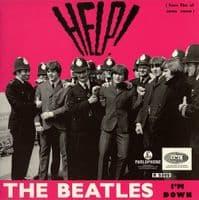 THE BEATLES Help Vinyl Record 7 Inch Parlophone 2019